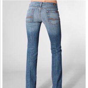 7 FAM Bootcut Jeans
